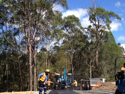 Bonogin QLD Residential Subdivision - Pavement Installation