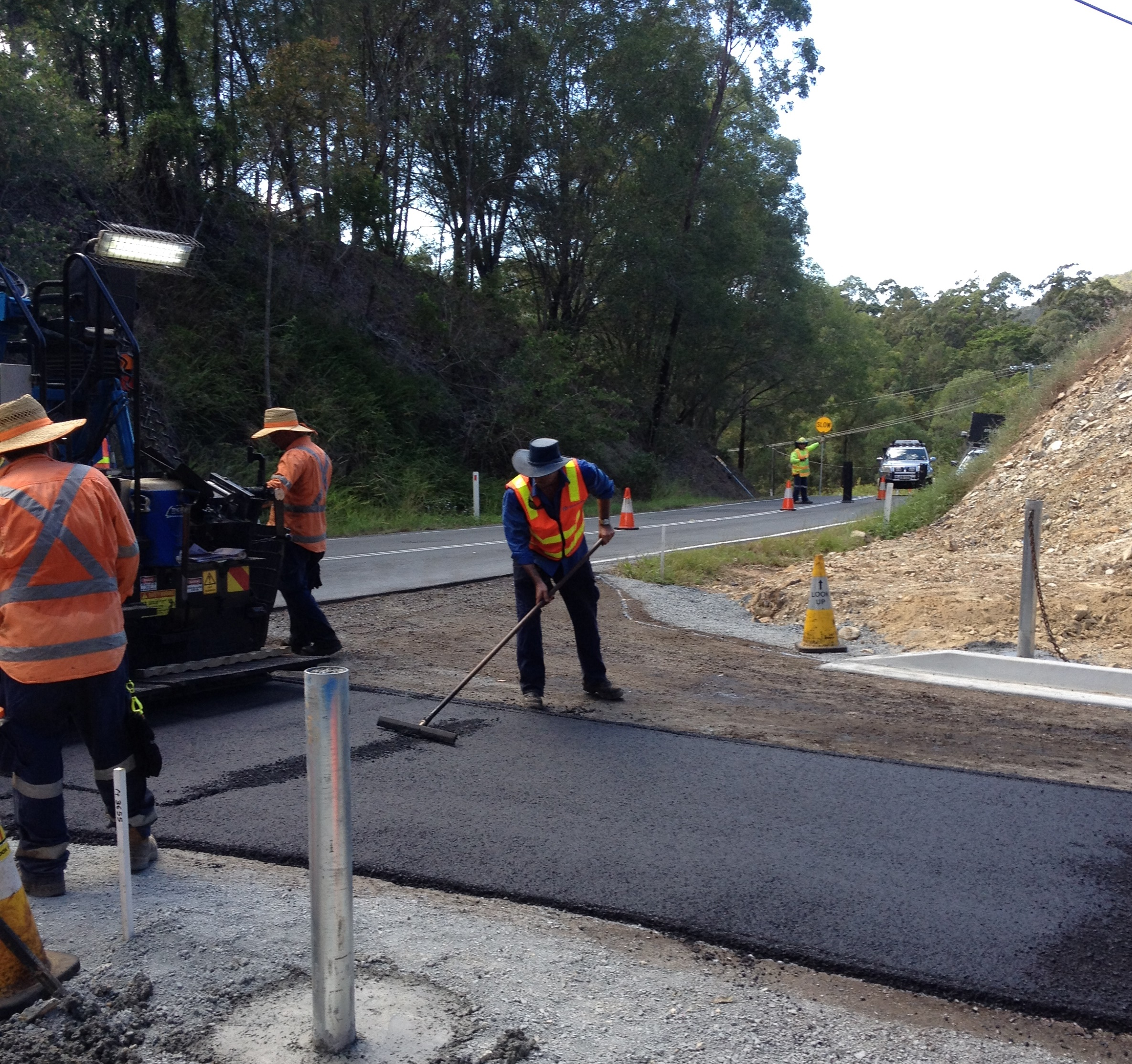Bonogin QLD Residential Subdivision - Roadworks & Pavements Installation