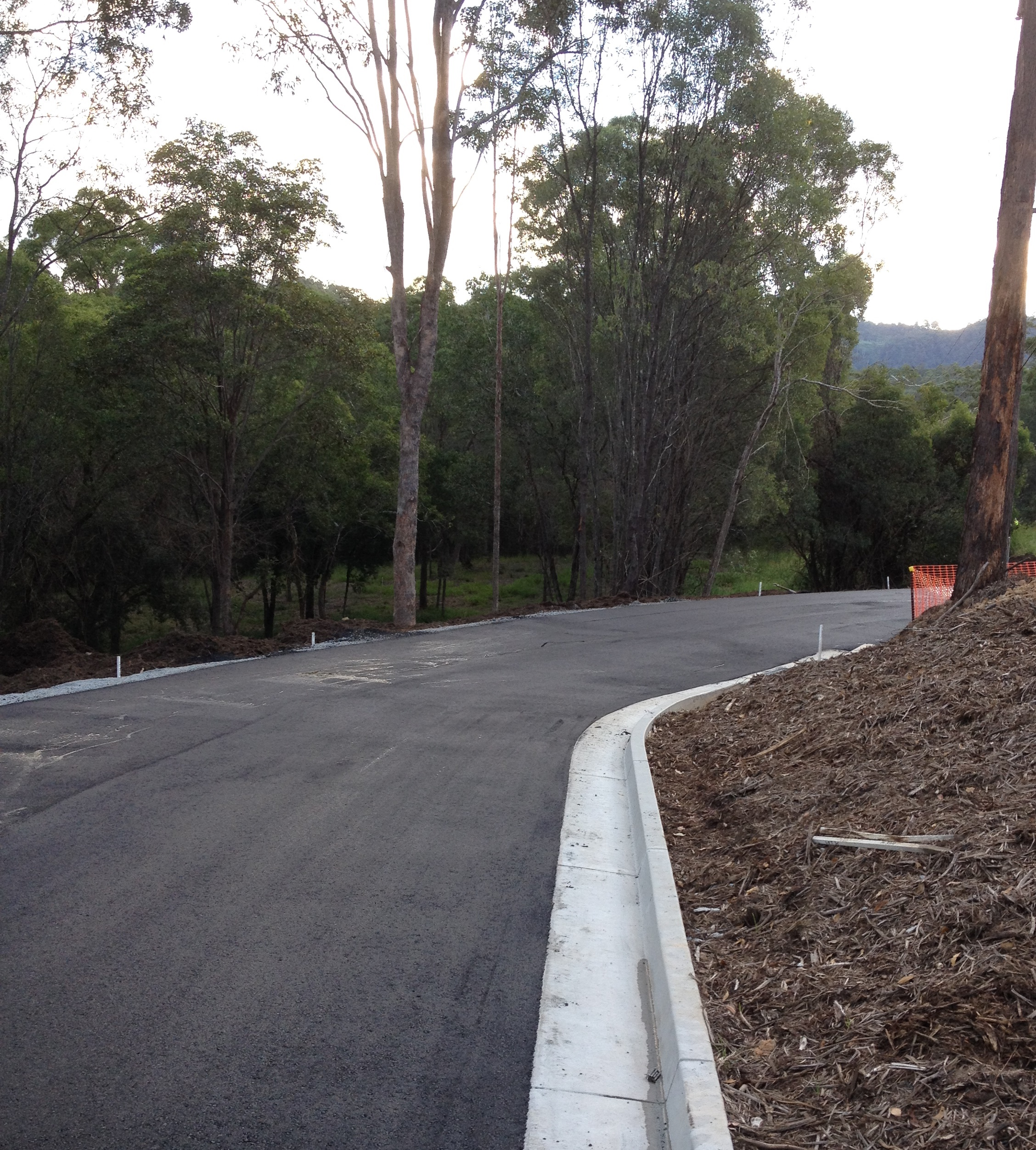 Bonogin QLD Residential Subdivision - Roadworks and Pavements