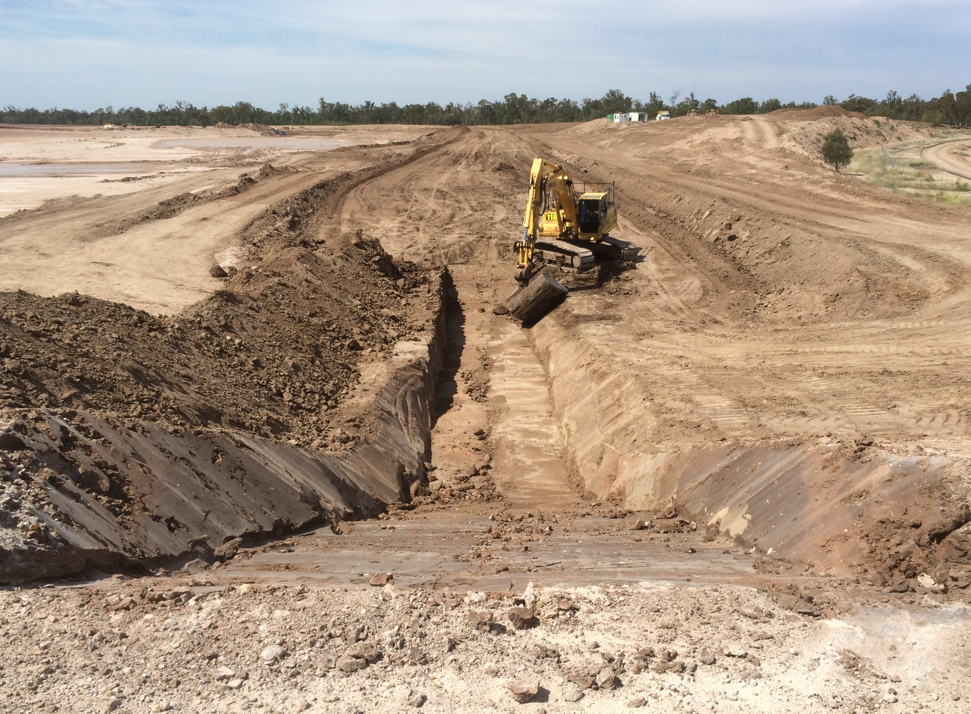 Reject Dam Cell Expansion - Earthworks as Site Preparation
