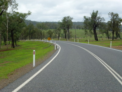 Main Road Construction Monto Mt Perry - Line Marking & Road Furniture
