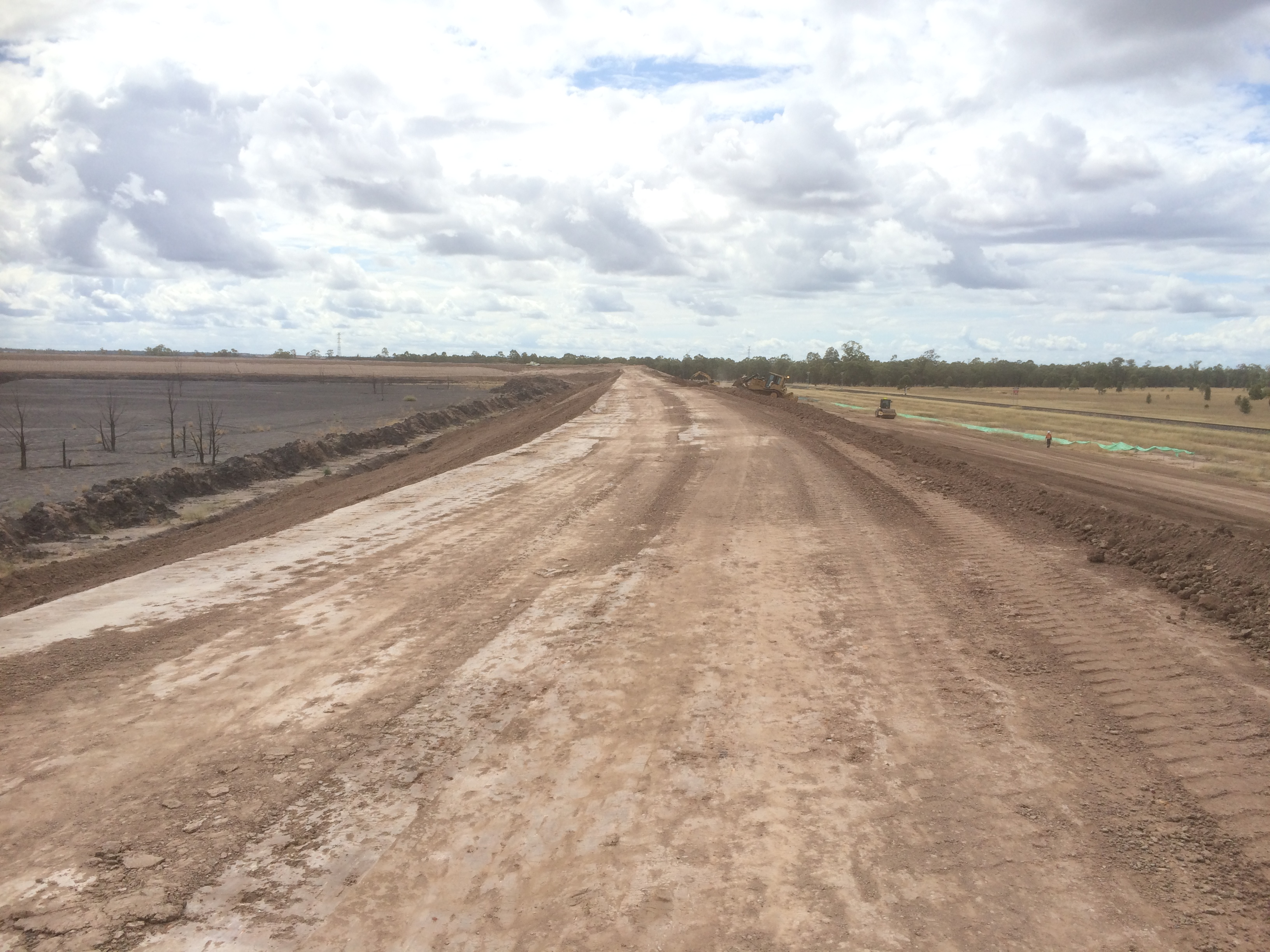 Reject Dam Cell Expansion - Haul Road Construction