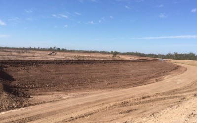 Reject Dam Cell Expansion - Tailings Embankment Construction