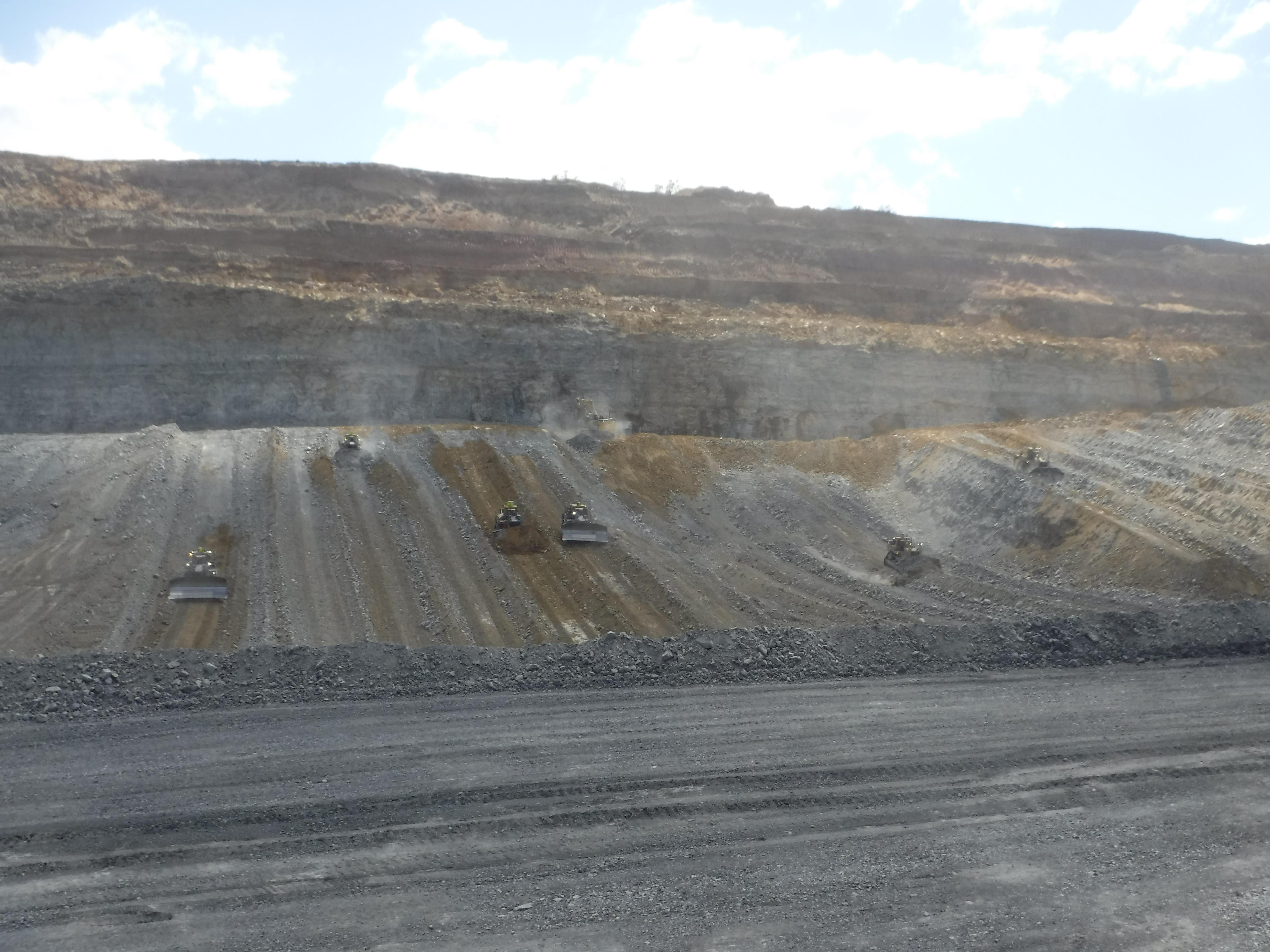 Middlemount Coal Mine - D10 & D12 Dozers in Action