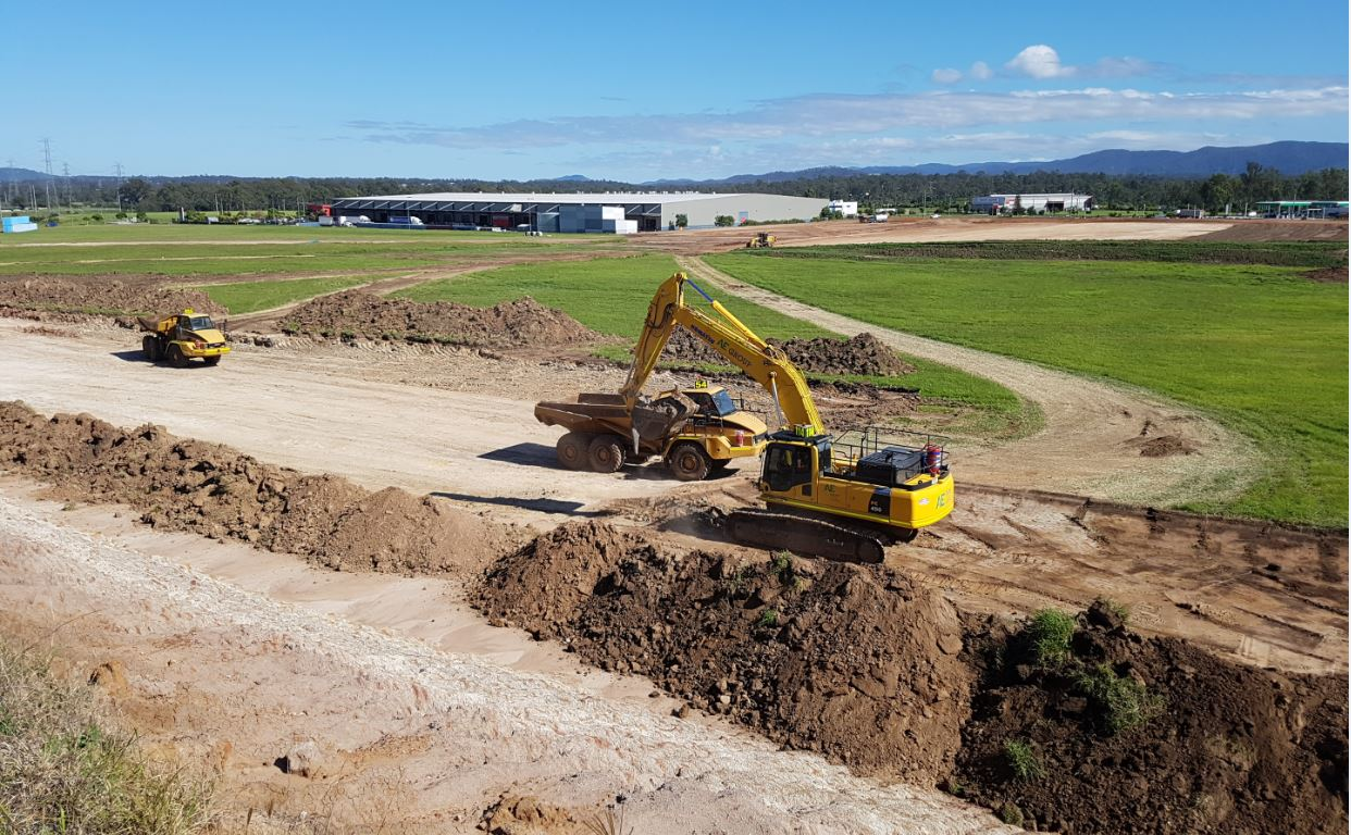 Citiswich Premium Industrial Estate Development - Bulk Earthworks Project