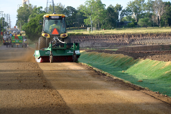 Citiswich Road Construction Project - Pavement Preparation