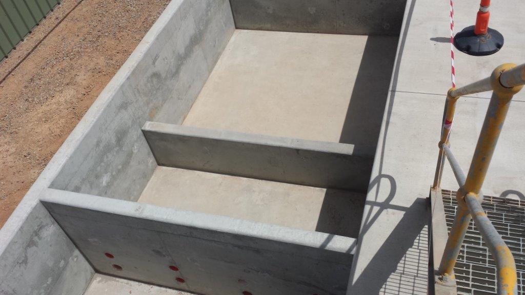 Concrete Formed Baffle Walls