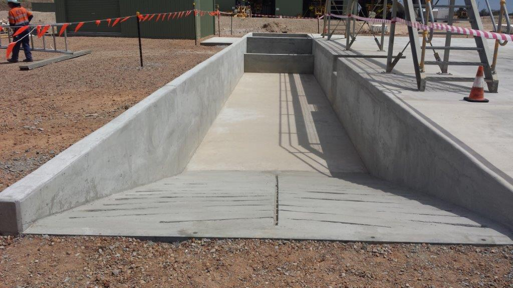 Sump Wash bay Entrance