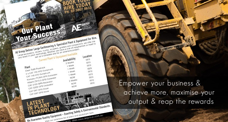 Heavy Machinery & Plant Hire Queensland