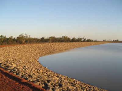 Burdekin to Moranbah Pipeline Project - Dam Wall Construction