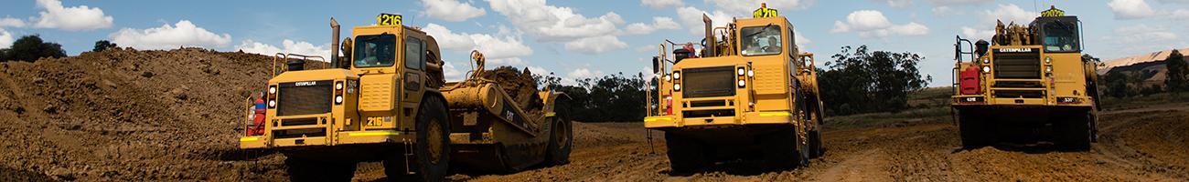 AE Group - Civil and Mining Scraper Work