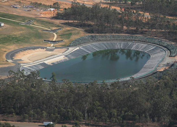 Baulderstone Queensland - HDPE Lined Water Retention Basins