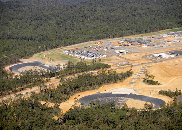 Baulderstone Queensland - HDPE Lined Water Retention Basins