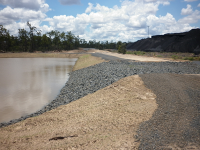 Oaky Creek Coal - ROM Evaporation Pond