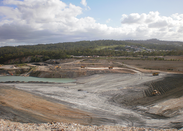Gold Coast Landfill Project - Bulk Earthworks Haulage & Placement