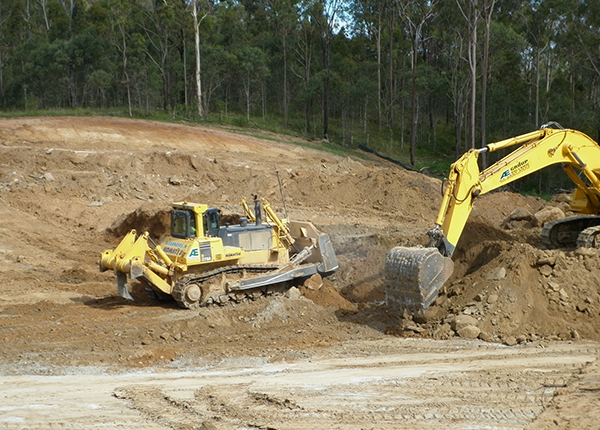 Water Infrastructure Logan City - Bulk Earth Moving