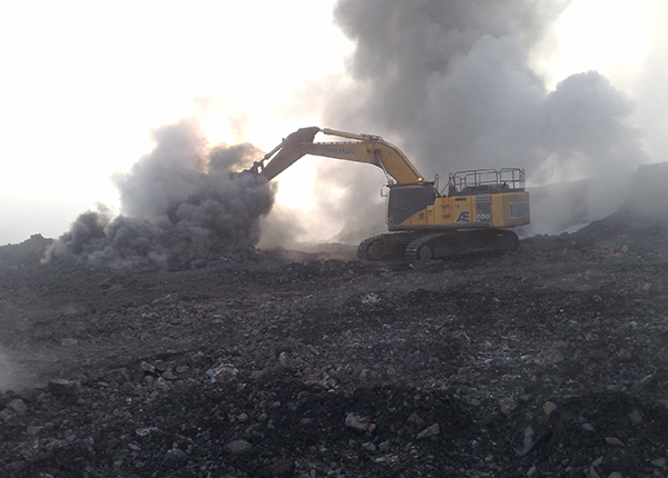 Swanbank Coal Mining Project - Excavator ROM Management