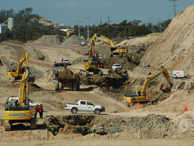 Thiess Project AE Group Civil - Road Works