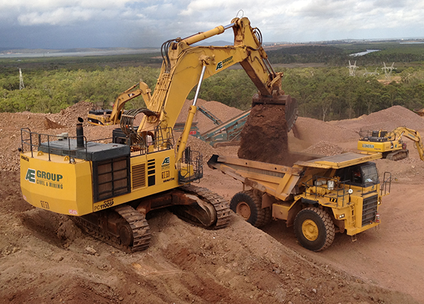 Rail Receival bulk earthworks