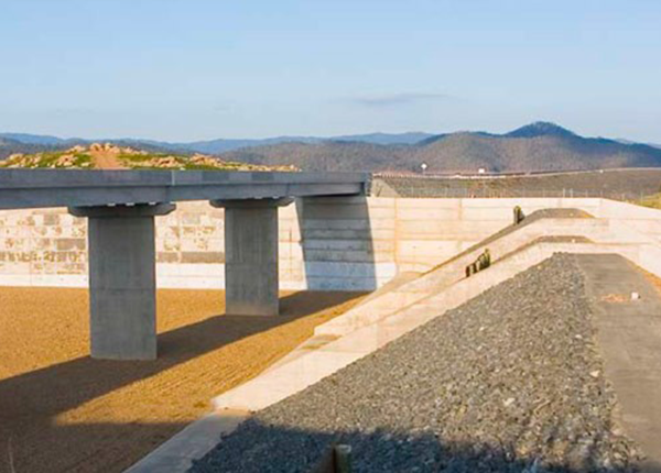 Wivenhoe Spillway Upgrade Project - Detailed Drainage Dam Wall