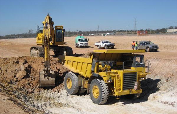 Radius Industrial Park Larapinta - Bulk Excavation Works